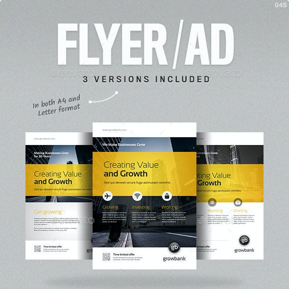 Business Flyer/Ad Vol. 10