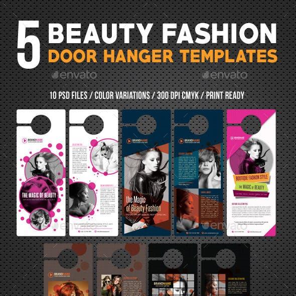 5 Beauty Fashion Door Hanger Bundle