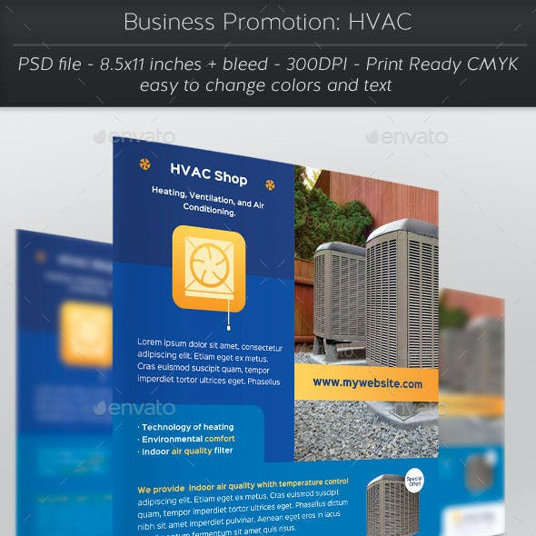Business Promotion: HVAC