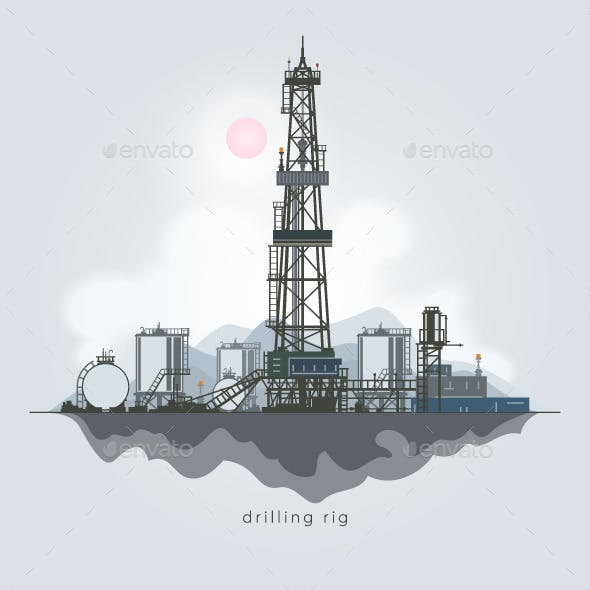 Oil or Natural Gas Drilling Rigs
