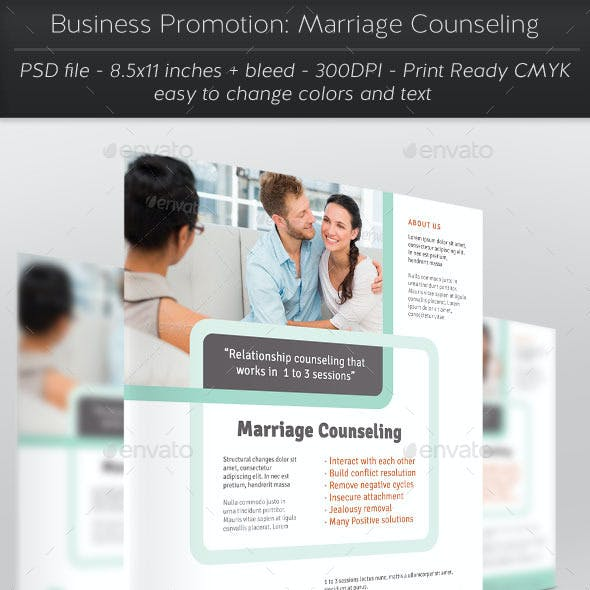 Business Promotion: Marriage Counseling