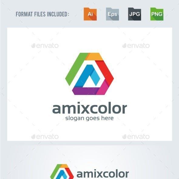 A Letter - Colors Logo Template