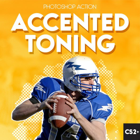 Accented Toning Photoshop Action