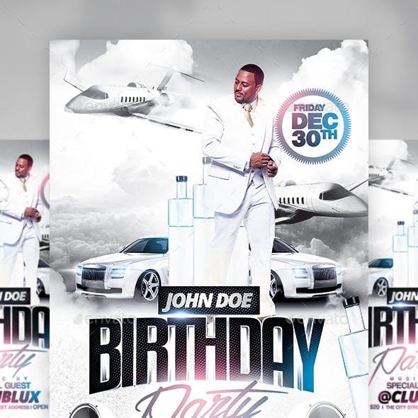 White Anniversary Birthday Party
