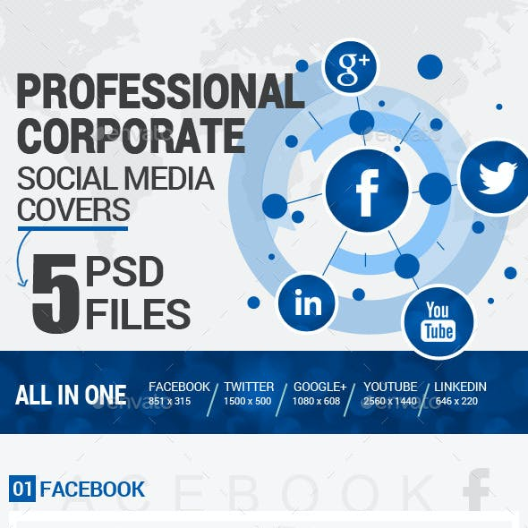 Social Media Covers Kit