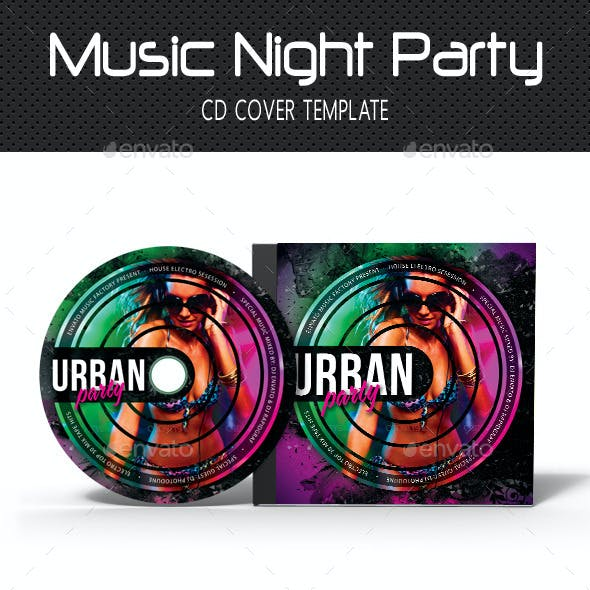 Music Night Party CD Cover 15