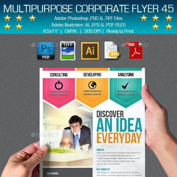 Multipurpose Corporate Flyer 45