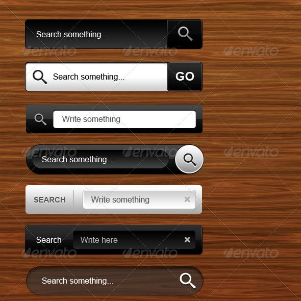 Styled Search Boxes