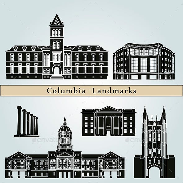 Columbia Landmarks and Monuments