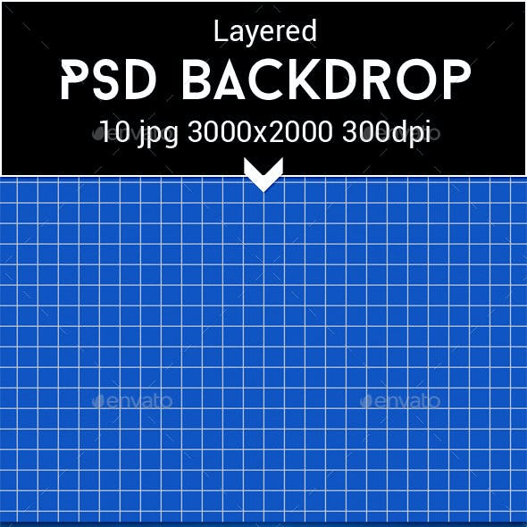 Blueprint PSD Backdrop