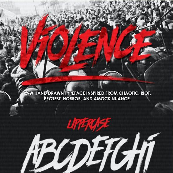 Violence Font
