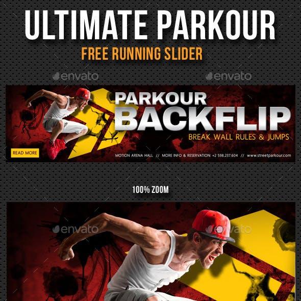 Ultimate Parkour Free Running Slider V2