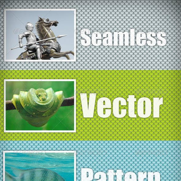 Scales vector pattern