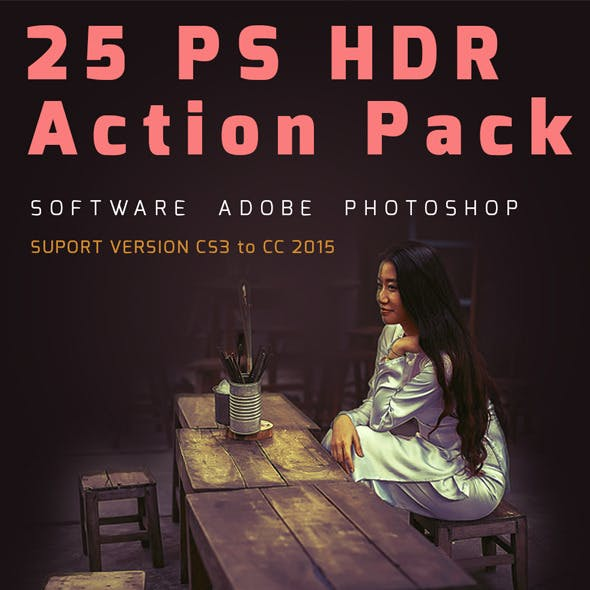PS HDR Action Pack