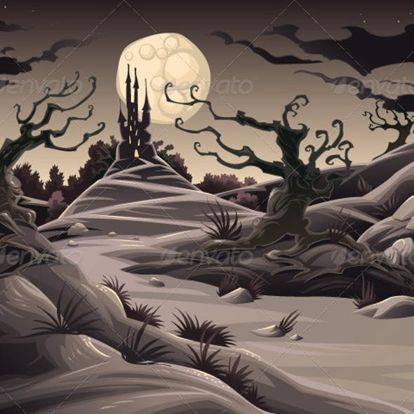 Horror landscape