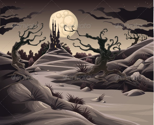 Horror landscape - Halloween Seasons/Holidays