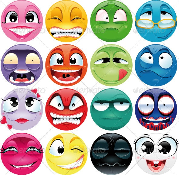 Group of expressions. - Characters Vectors