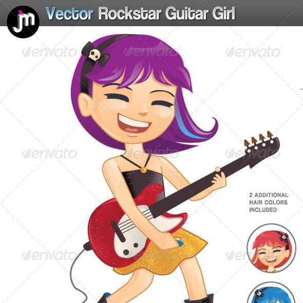 Rockstar Guitar Girl