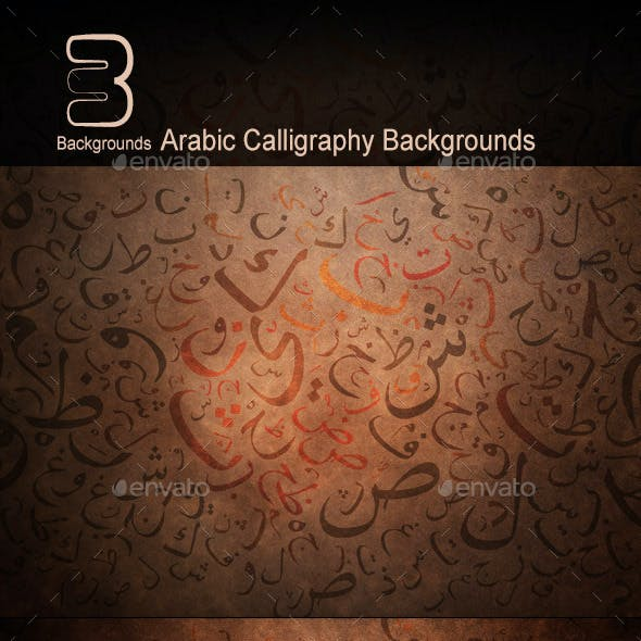 Arabic Calligraphy Backgrounds