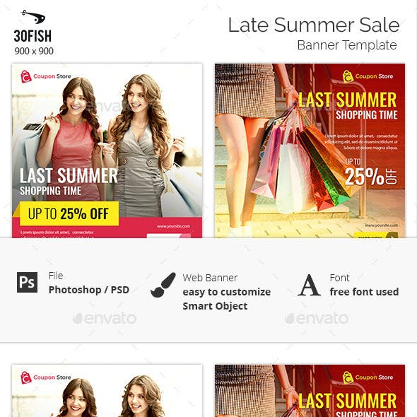 Last Summer Sale Banner
