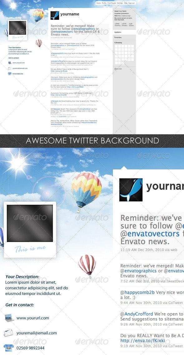 Twitter Background - Twitter Social Media