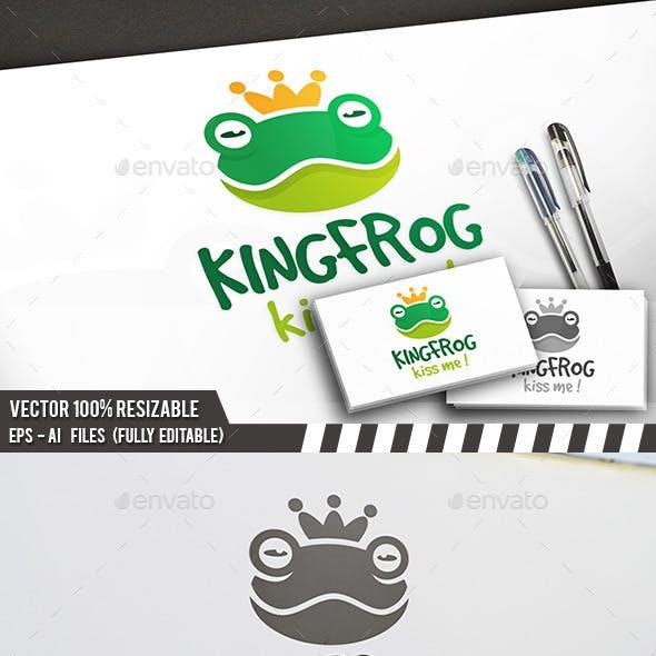 Frog King Logo