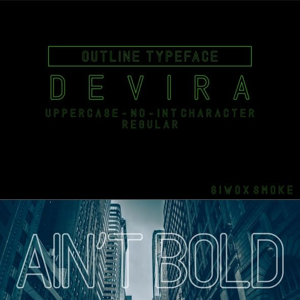 DEVIRA OUTLAND (OUTLINE TYPE)