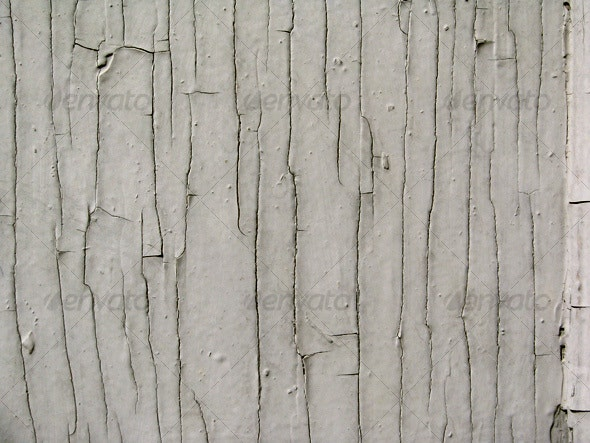 :: Cracked paint on wood - Wood Textures