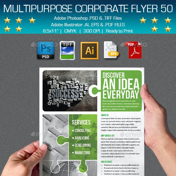 Multipurpose Corporate Flyer 50