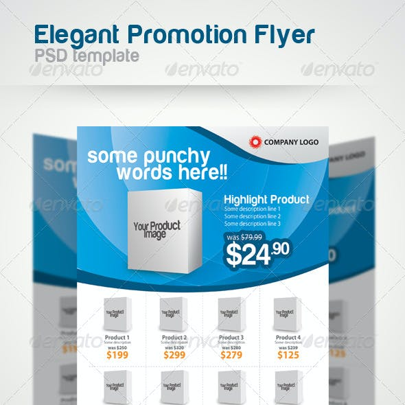 Elegant Promotion Flyer