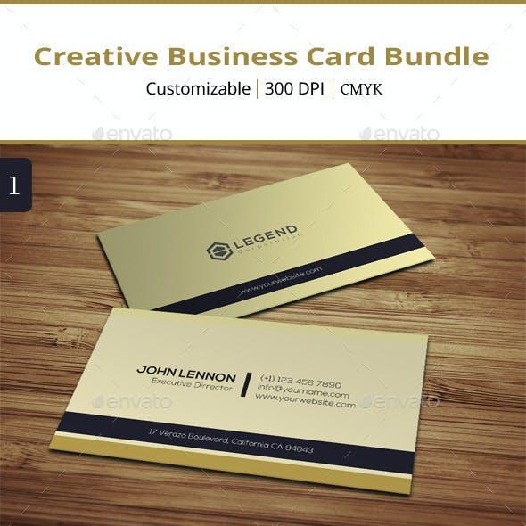 Creative Business Card Bundle - 2 in 1