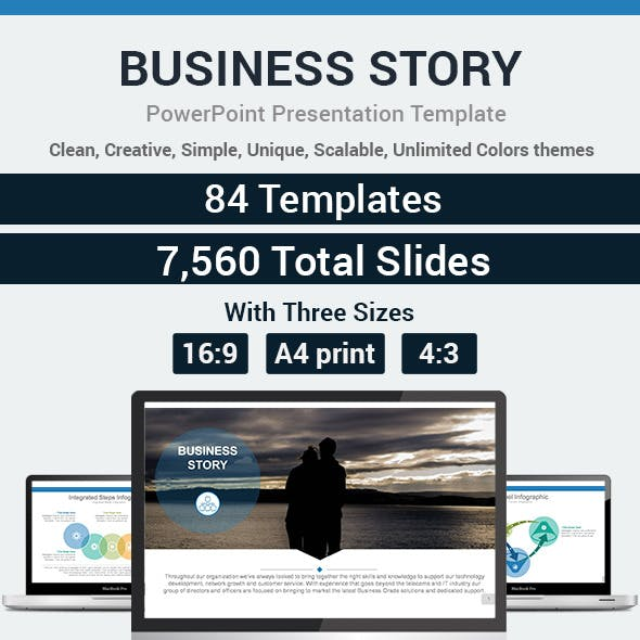 Business Story PowerPoint Presentation Template