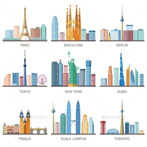 Cities Skylines Icons Set