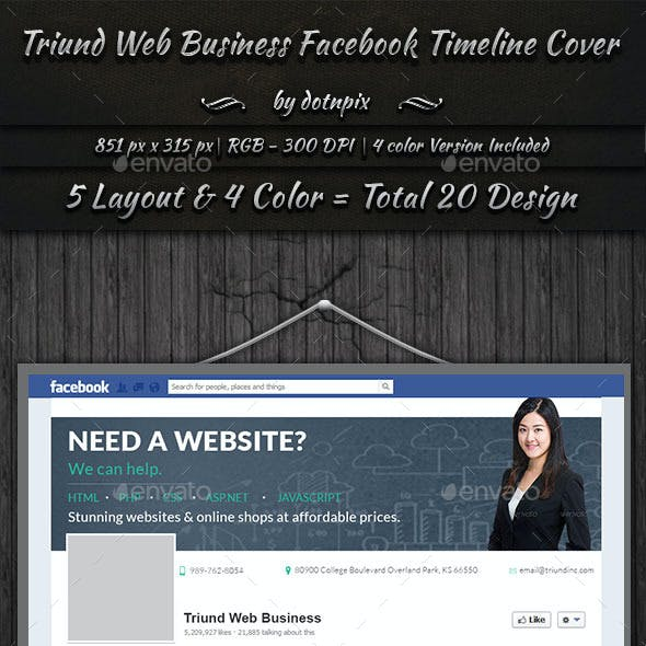 Triund Web Business Twitter Covers