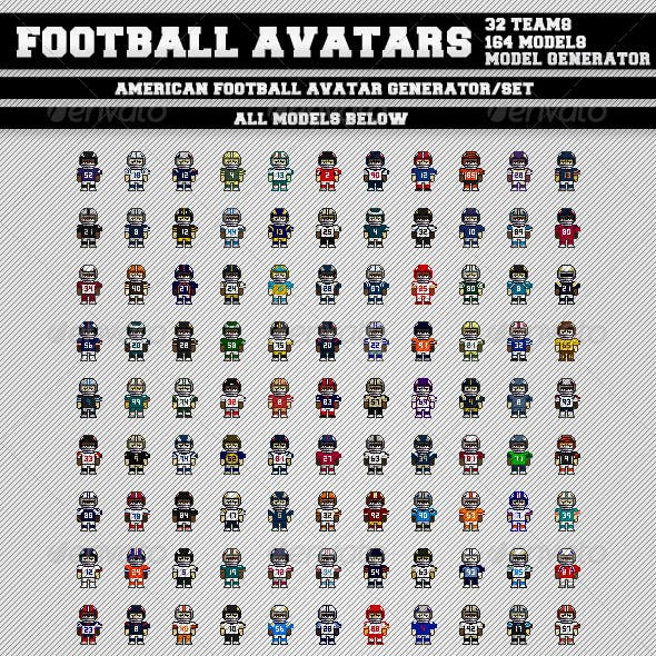 American Football Avatars