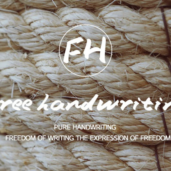 Free handwriting-Handwritten Font
