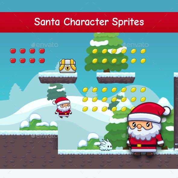 Santa - Character Sprites