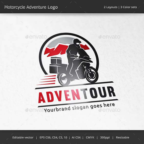 Motorcycle Adventure Logo