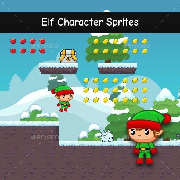 Elf Character Sprites