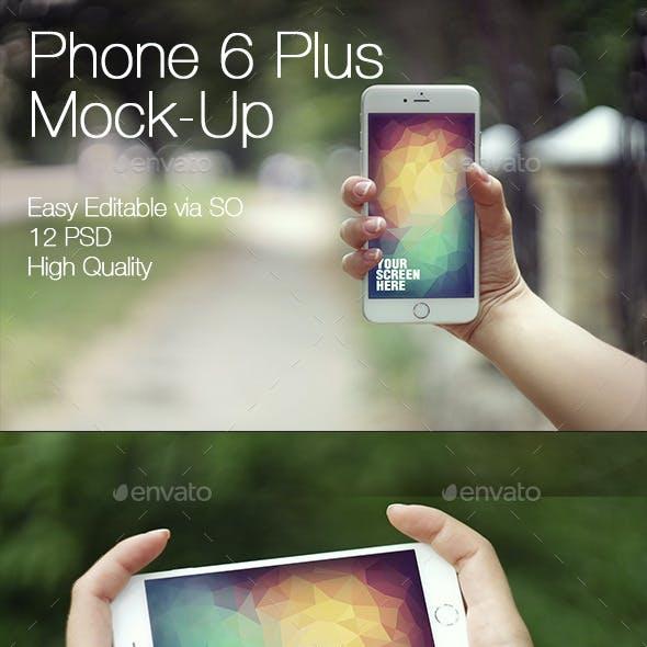 Phone 6 Plus Mockup