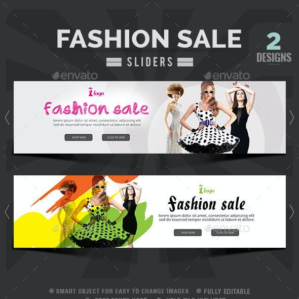 Fashion Sale Slider