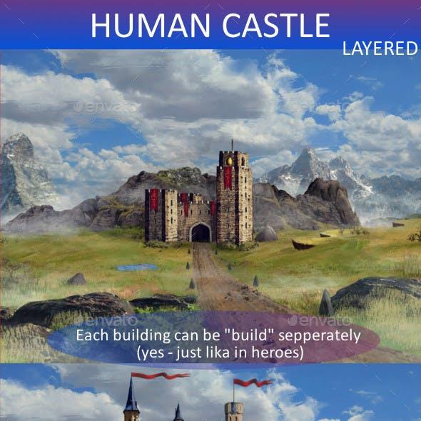Human Castle set