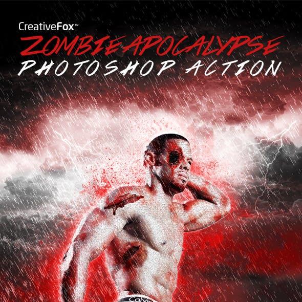 Zombie Apocalypse Photoshop Action