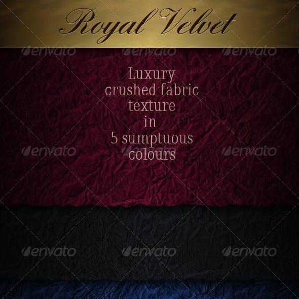 Velvet - Luxury Crushed Seamless Fabric