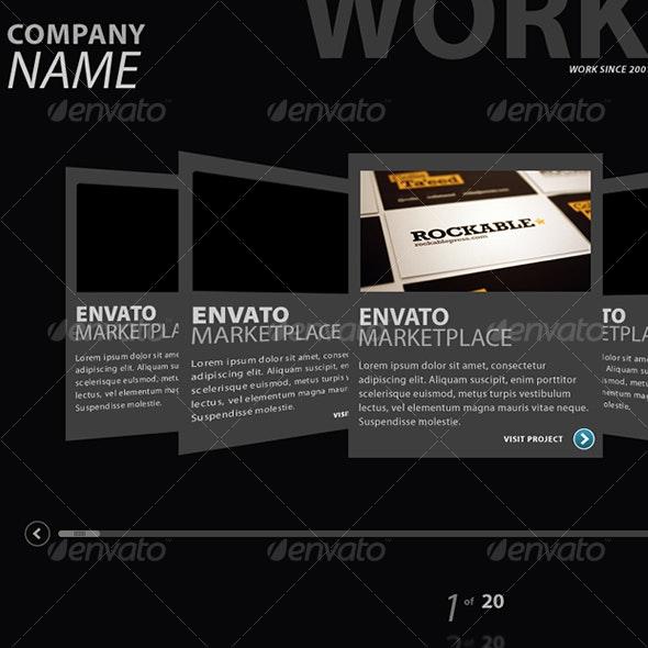 Web Portfolio Display V2 - Web Elements