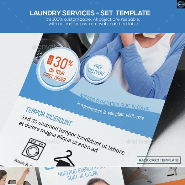 Laundry Services - Set Template