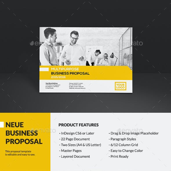 Neue - Business Proposal