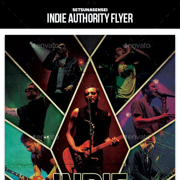 Indie Authority Flyer