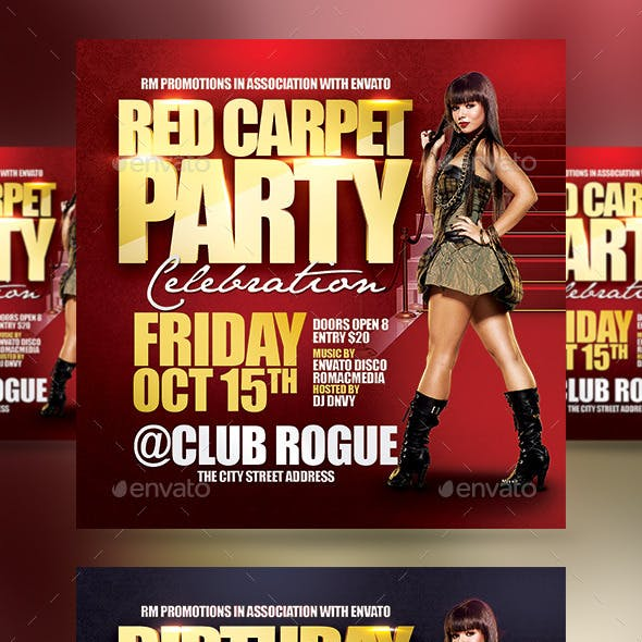 Red Carpet Birthday Party
