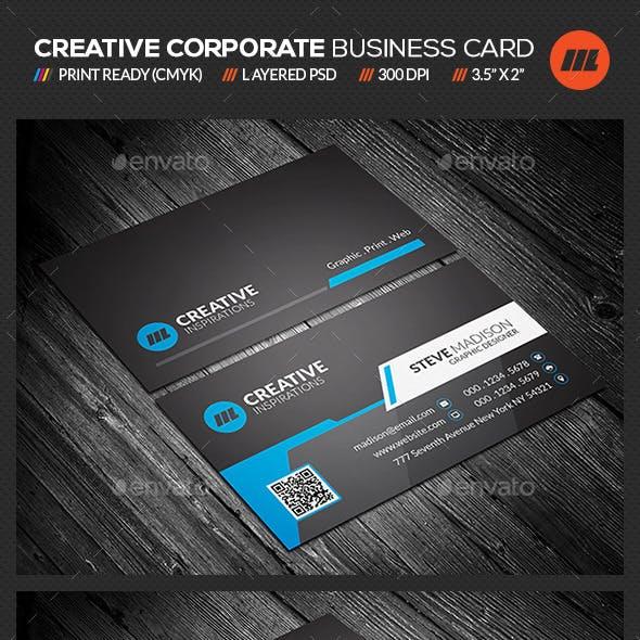 Creative & Modern Corporate Business Card